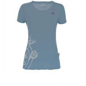 E9 Reve Maglietta Donna, blu